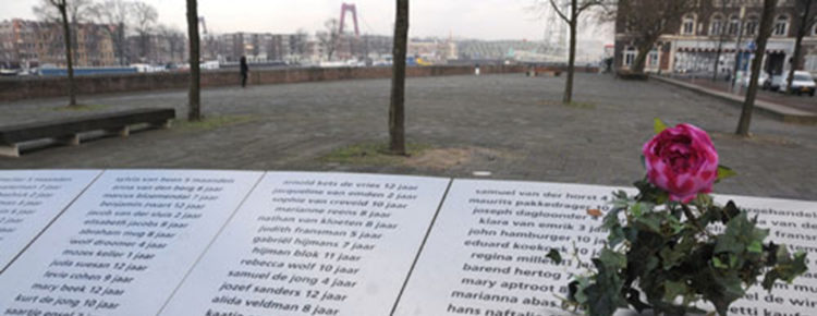 Jom Hasjoa herdenking Rotterdam 2017